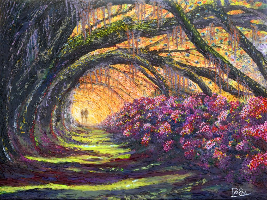 Magnolia Memories 30x40 Acrylic in Gel Medium ***Custom Sizes Available